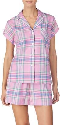 Lauren Ralph Lauren Plaid Short Pajamas