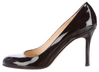 Kate Spade Kate Spade New York Patent Leather Round Toe Pumps