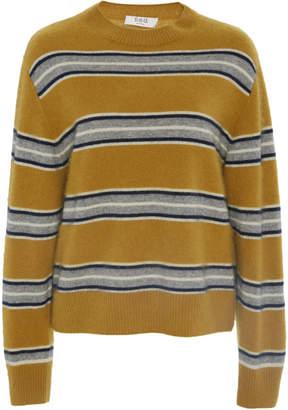 Sea Salene Striped Boxy Boyfriend Sweater