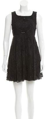 Alice + Olivia Lace Embellished Dress
