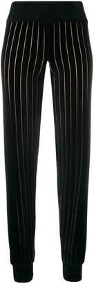 Sonia Rykiel striped track trousers