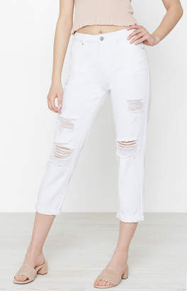 Pacsun Clubhouse White Mom Jeans