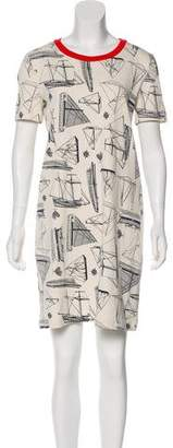 Tory Burch Adrift Printed T-Shirt Dress w/ Tags