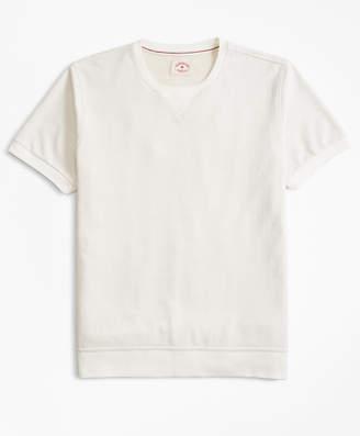 Brooks Brothers French Terry Short-Sleeve Sweatshirt