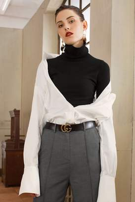 Genuine People Turtleneck Long Sleeved Thin Sweater