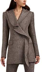 Area Women's Freja Sparkly Double-Breasted Blazer