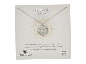 Dogeared The Unicorn Coin Necklace