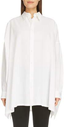 Yohji Yamamoto Y's by Oversize Cotton Shirt