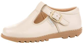Angelitos Leather T-Strap Flat