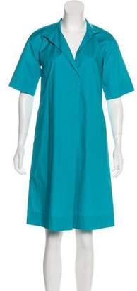 Les Copains Short Sleeve Knee-Length Dress