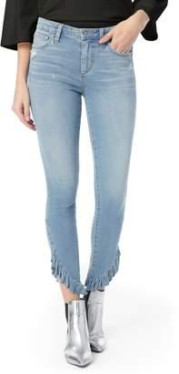 Joe's Jeans Icon Ruffle Hem Ankle Skinny Jeans