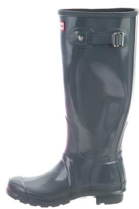 Hunter Rubberized Mid-Calf Boots