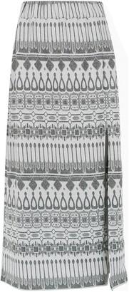 Framed Gipsy midi skirt