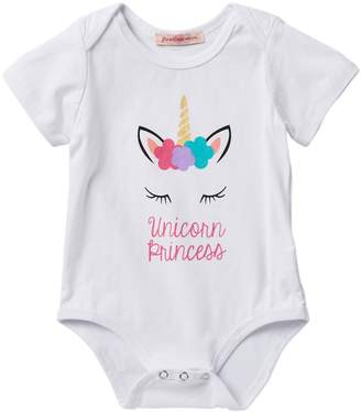 Paulinie Unicorn Princess One Piece (Baby, Toddler & Little Girls)