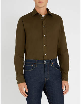 Ralph Lauren Purple Label Slim-fit cotton shirt