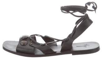 Tomas Maier Studded Leather Sandals