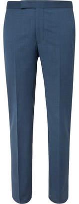 Richard James Navy Hyde Slim-Fit Super 130s Virgin Wool Suit Trousers