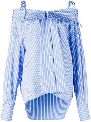 MSGM off-the-shoulder loose shirt