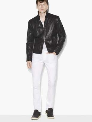 John Varvatos Classic Leather Jacket