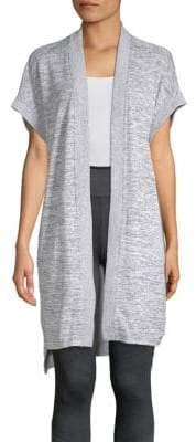 Calvin Klein Longline Open-Front Cardigan