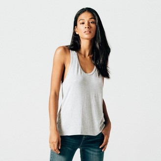 DSTLD Modal Tank in Heather Grey