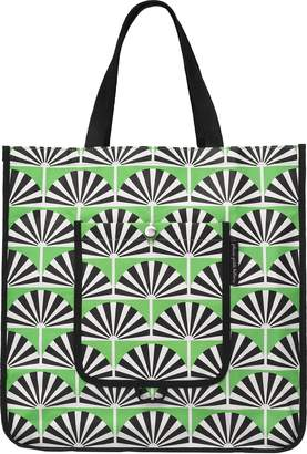 Petunia Pickle Bottom Shopper Tote in Playful Palm Springs