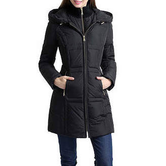 Asstd National Brand Angela Quilted Parka Coat