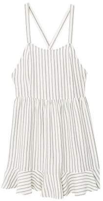 MANGO Wrap back dress