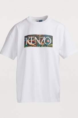Kenzo Cotton jungle T-shirt