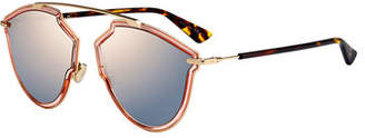 Christian Dior So Real Riss Mirrored Sunglasses