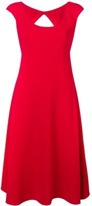 Aspesi classic fit-and-flare midi dress