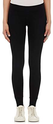 ATM Anthony Thomas Melillo Women's Rib-Knit Yoga Pants - Black