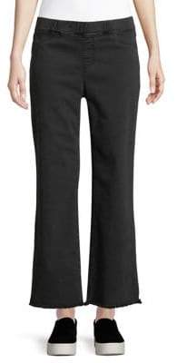 Eileen Fisher Cropped Raw Edge Jeans
