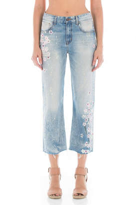 Fidelity Cherry Blossom Jeans