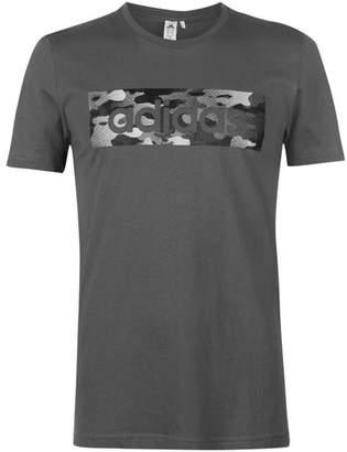 Camo Linear T Shirt Mens