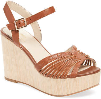 Seychelles Mind Leather Wedge Sandal