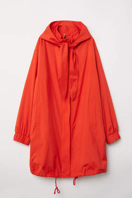 H&M Jacket with Detachable Hood - Orange