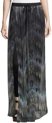Haute Hippie The Triple S Silk Wide-Leg Pants