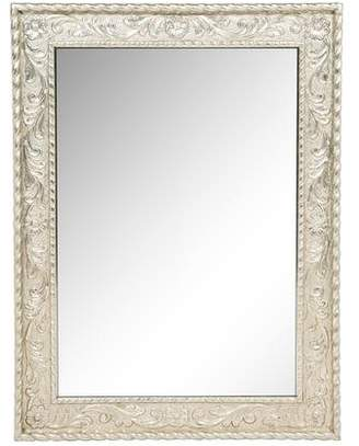 Indian-Style Metal-Clad Wall Mirror