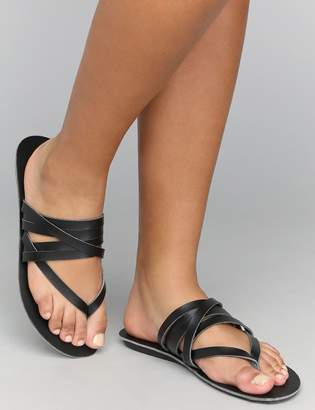 Lane Bryant Multi-Band Flat Sandal