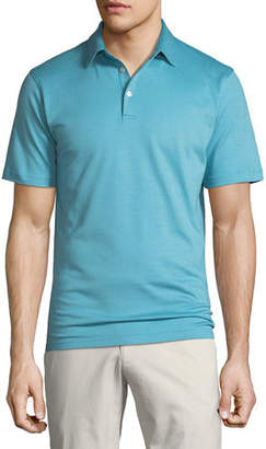 Peter Millar Men's Perfect Pique-Knit Polo Shirt
