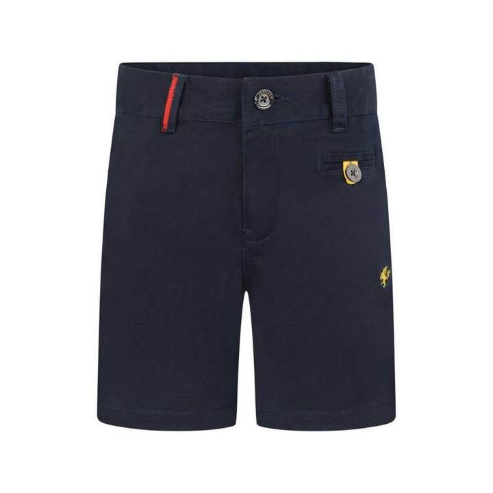 FerrariBoys Navy Cotton Shorts