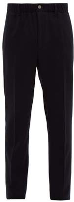 Incotex Tailored Relaxed Fit Trousers - Mens - Navy