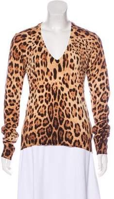 Dolce & Gabbana Cashmere Long Sleeve Sweater