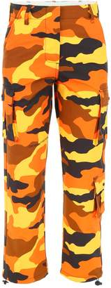 Off-White Off White Camouflage Cargo Pants