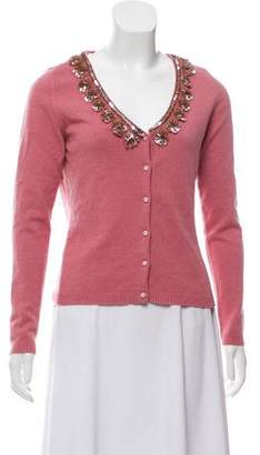 Blugirl Embellished Knit Cardigan
