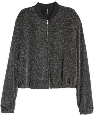 H&M Short Jacket - Silver