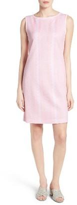 Women's Ming Wang Sleeveless Knit Sheath Dress $240 thestylecure.com