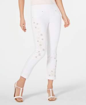 Style&Co. Style & Co Embellished Boyfriend Jeans, Created for Macy's
