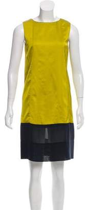 Balenciaga Colorblock Shift Dress